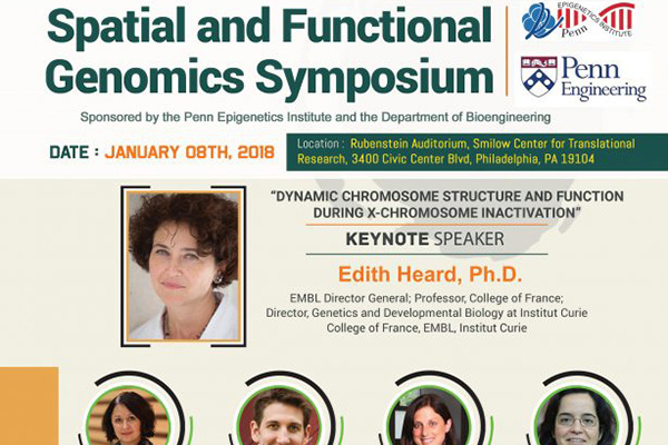 Spatial and Functional Genomics Symposium, 1/8/18