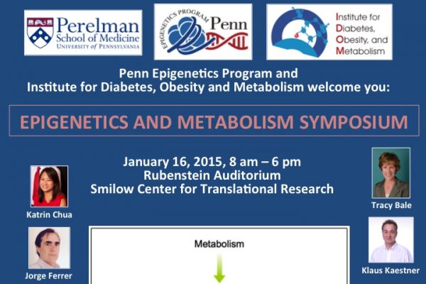 Epigenetics and Metabolism Symposium 1/16/15