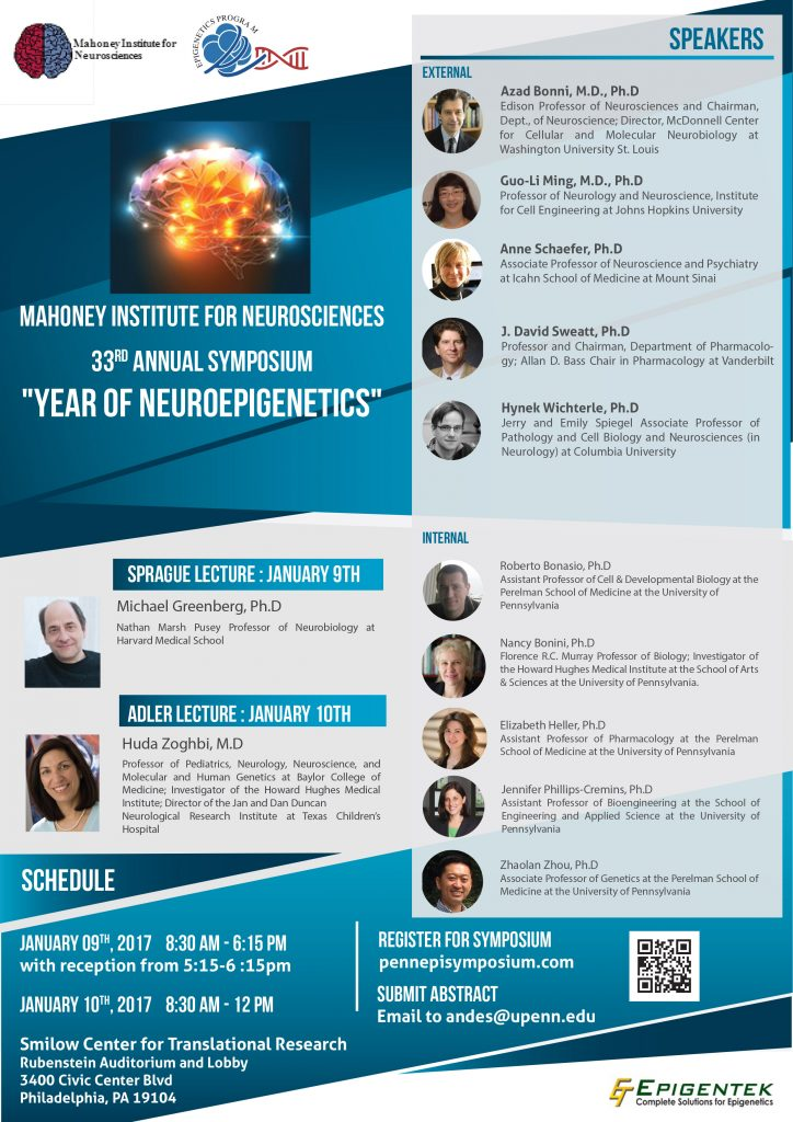 NeuroEpi Symposium Flyer