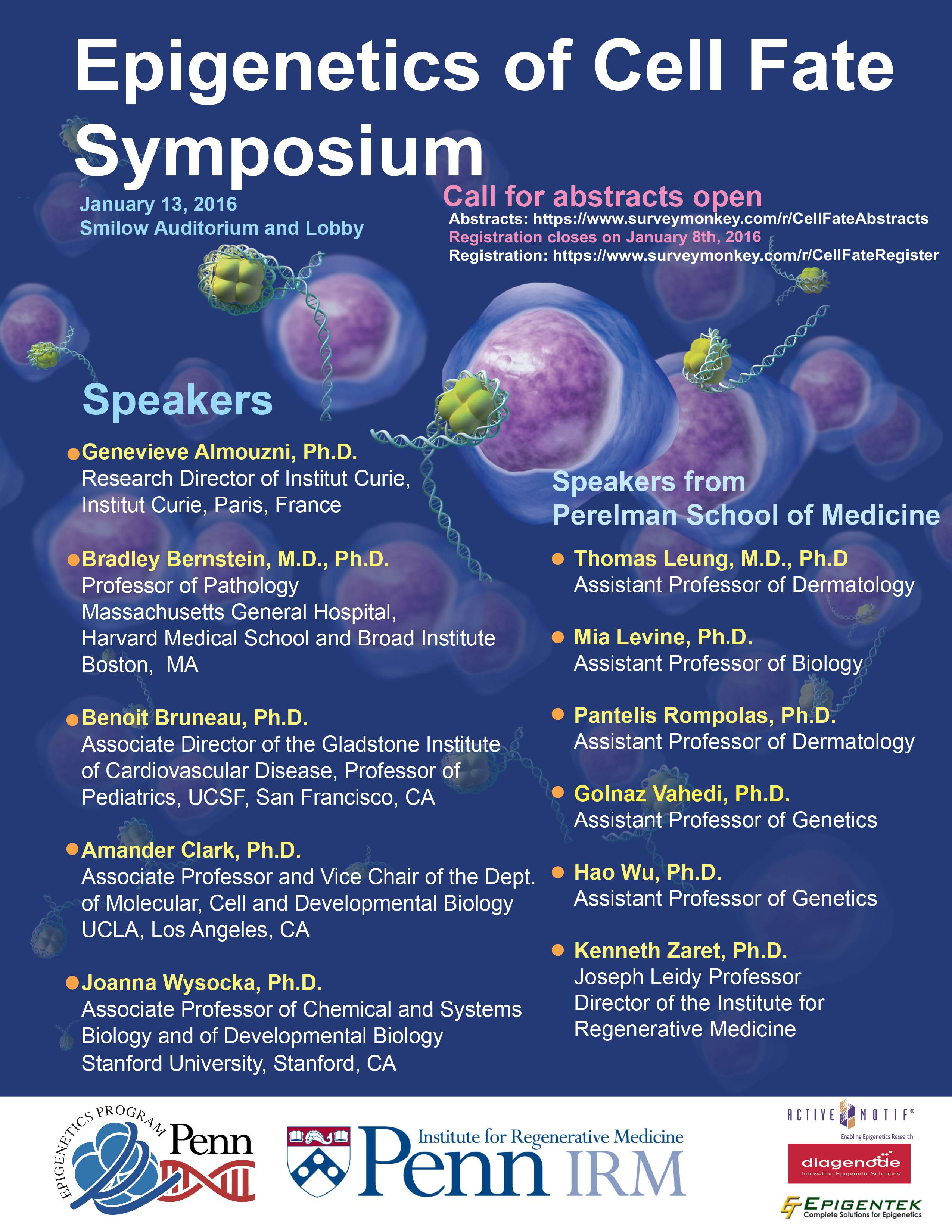 Epigenetic and cell fate symposiumv5
