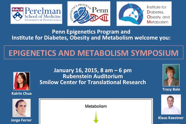 Epigenetics and Metabolism Symposium