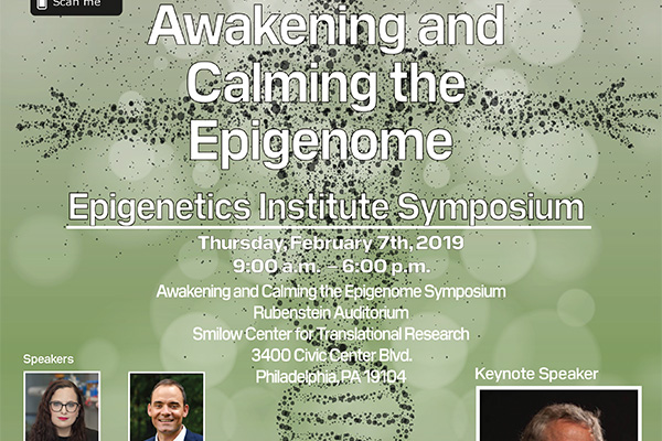 2019 Awakening and Calming The Epigenome Symposium
